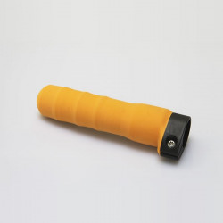 Scull and Skinny Sweep Grip, Contoured Orange Rubber, Adjustable