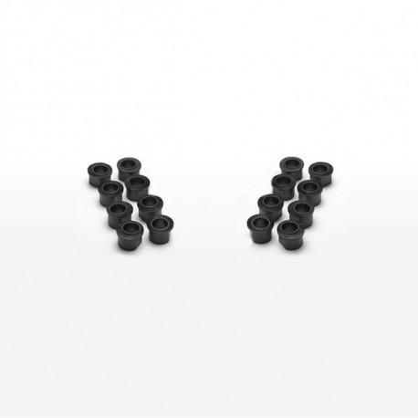 Sweep Oarlock Bushings, 9/16 inch, Black