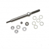 13 mm Scull Rigger Pin with Hardware Kit